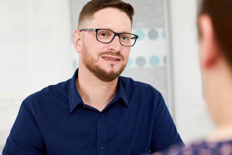 Portraitbild von Andreas Voßeler